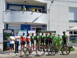 El calor y el kilometraje no fueron obstáculo para los participantes del reto Vía de la Plata en BTT por Extremadura