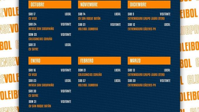 El Extremadura CPV de Superliga Masculina 2 ya conoce su calendario