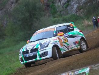 Doble podio para el ERT en el Rally Terra Da Auga