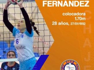 Flor Fernández, nuevo refuerzo para el Extremadura CPV