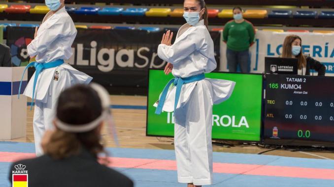 Paola García, campeona del campeonato de España de clubes