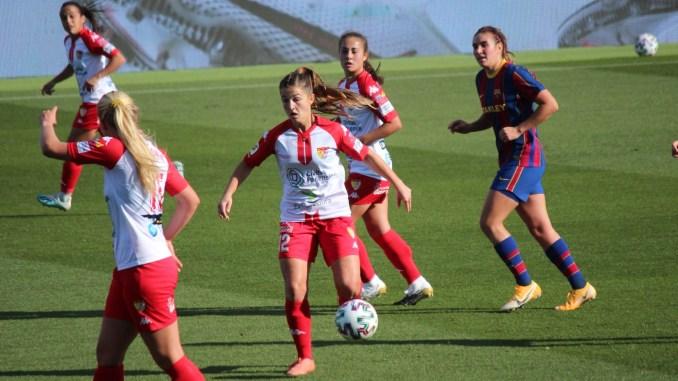 Abultada derrota ante el Barcelona