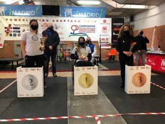 Loida Zabala se proclama Campeona de España de powerlifting por decimoquinta vez consecutiva