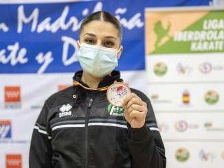 Doble medalla para Marta García en el campeonato de España absoluto