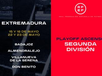 Extremadura acogerá las eliminatorias por el ascenso de esta temporada en Segunda División B