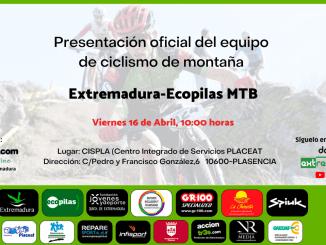 Presentación EXTREMADURA-ECOPILAS MTB