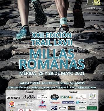 Cartel Millas Romanas