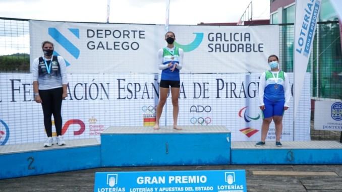 Elena Ayuso suma dos subcampeonatos en Galicia