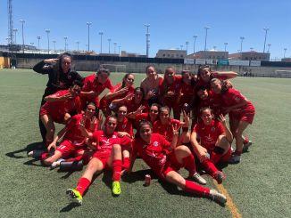 CP San MIguel tras su victoria en Sevilla