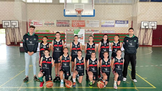 Infantil Verde San Antonio Cáceres Basket