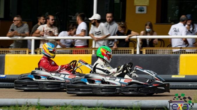 El Karting de Olivenza acogió la segunda prueba de las Series de Resistencia
