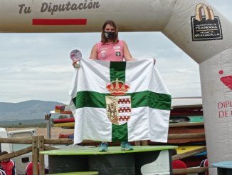 Gran actuación de Elena Ayuso en el descenso hasta El Anillo