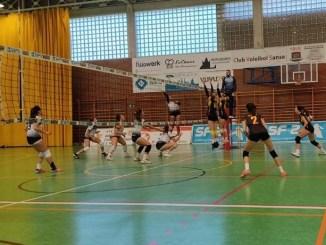 Las chicas del Extremadura Badajoz CPV consiguen su primera victoria (1-3) en Superliga 2