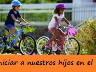 Consejos para iniciar a nuestros hijos en el ciclismo