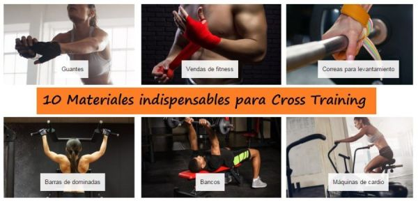 Material de entrenamiento para Cross Fit