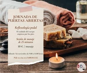 Jornada de reflexología podal