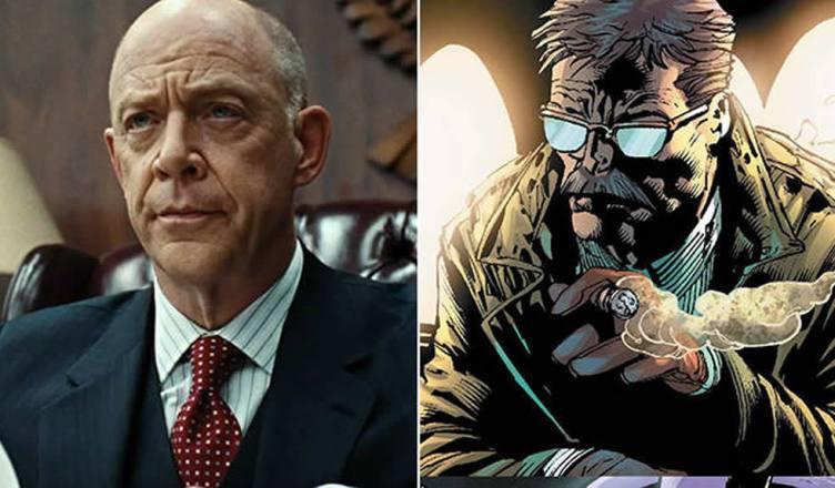 Divulgado a primeira imagem do J.K. Simmons como Comissário Gordon!