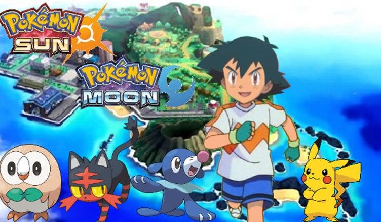 Divulgado o primeiro trailer do anime Pokémon Sun & Moon!