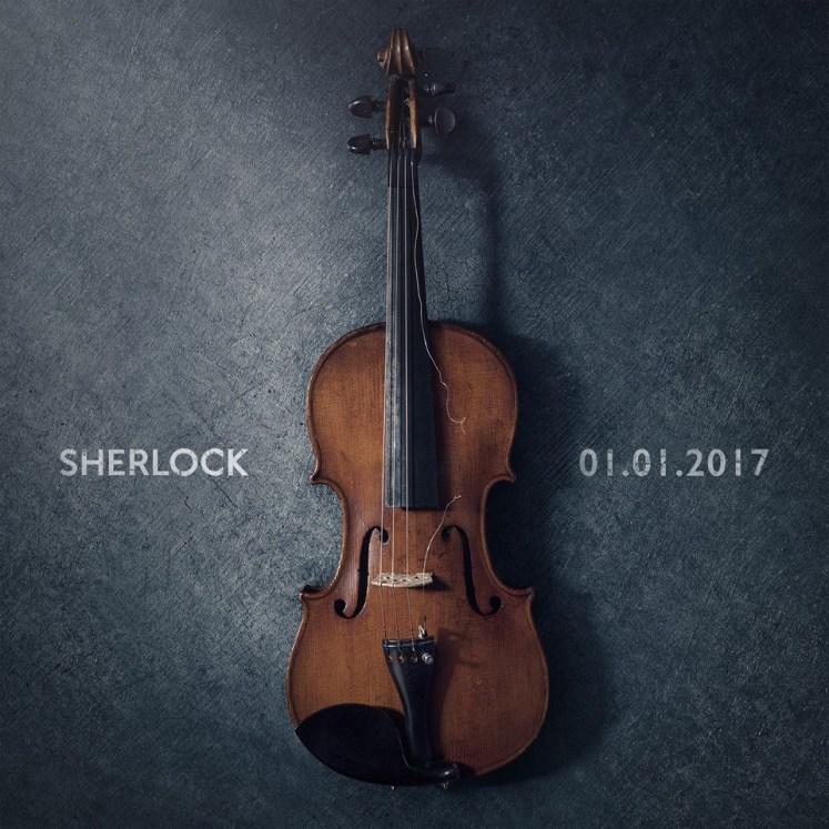 Divulgado a data de estreia quarta temporada de Sherlock!
