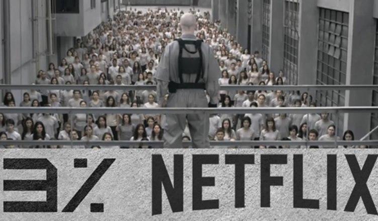 Netflix divulga a abertura de 3%, sua primeira série brasileira!