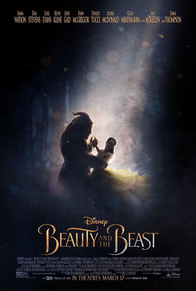 Emma Watson divulga um novo pôster de A Bela e a Fera!