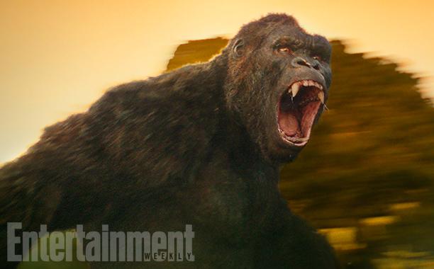 Revelado o visual do King Kong em Kong: A Ilha da Caveira!