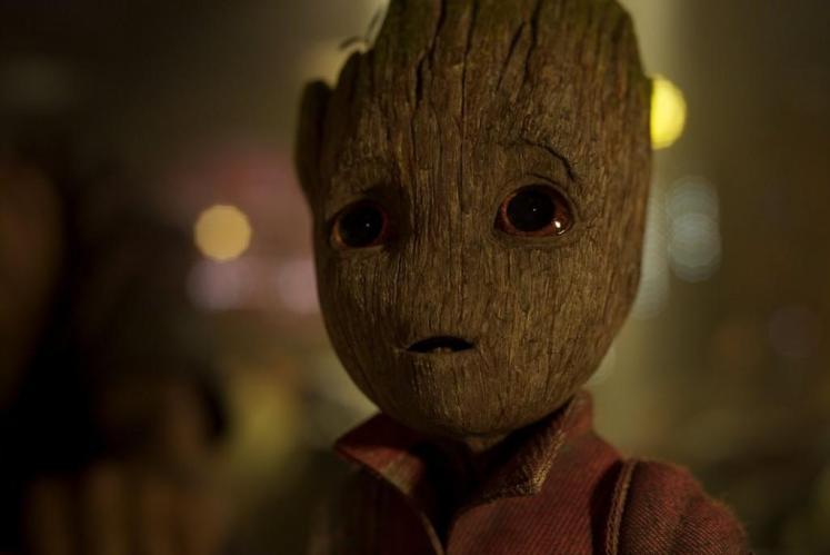 Divulgada uma nova imagem oficial do Baby Groot em Guardiões da Galáxia Vol. 2