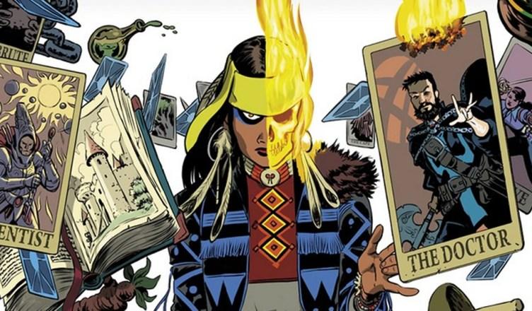 Marvel apresenta uma nova Motoqueira Fantasma na HQ do Doutor Estranho!