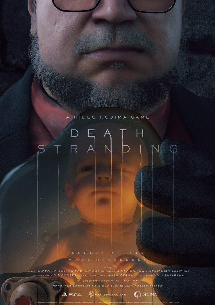 Divulgado um novo trailer de Death Stranding, com Guillermo del Toro e Mads Mikkelsen juntos