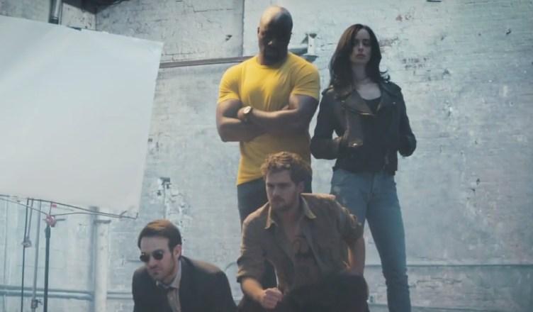 Divulgado a primeira imagem oficial de Os Defensores!