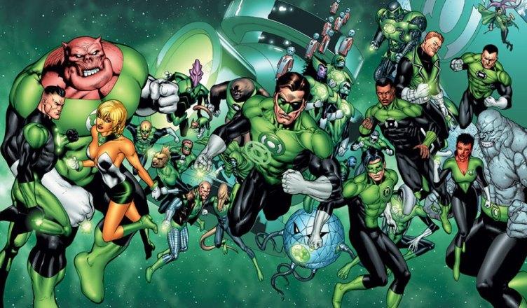 Revelado os personagens principais do filme da Tropa dos Lanternas Verdes!