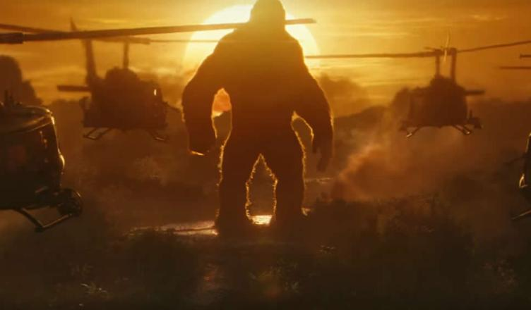 Divulgado o trailer final de Kong: A Ilha da Caveira!