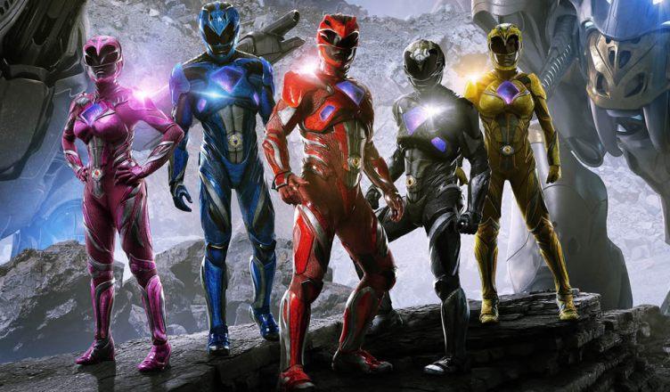 Divulgado dois novos pôsteres do filme dos Power Rangers!