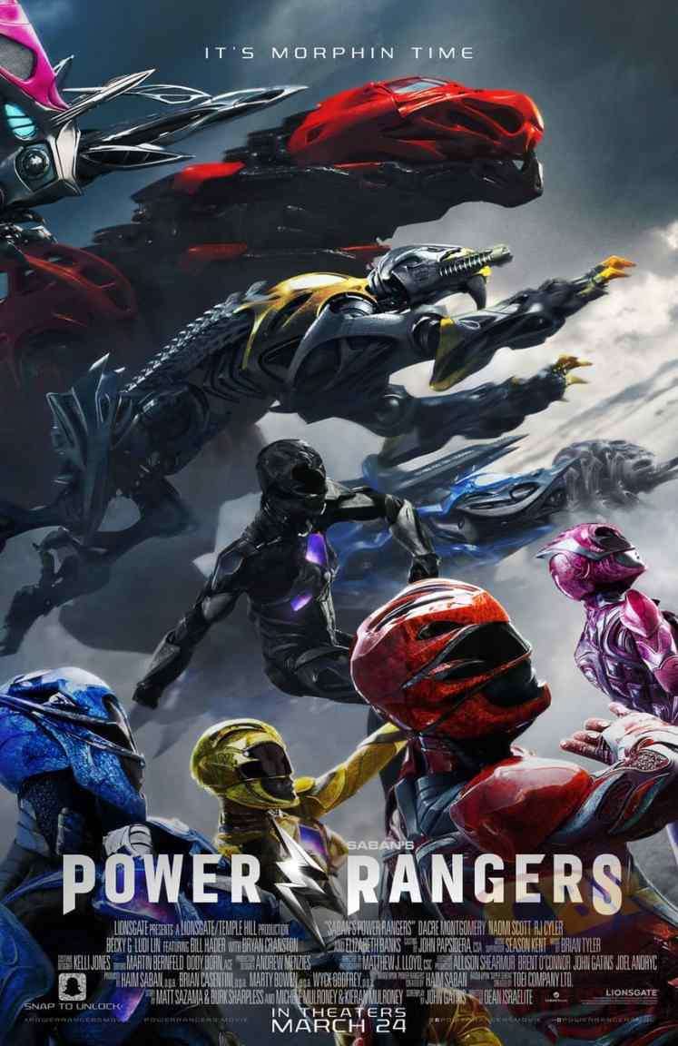 Divulgado um novo pôster do filme dos Power Rangers!