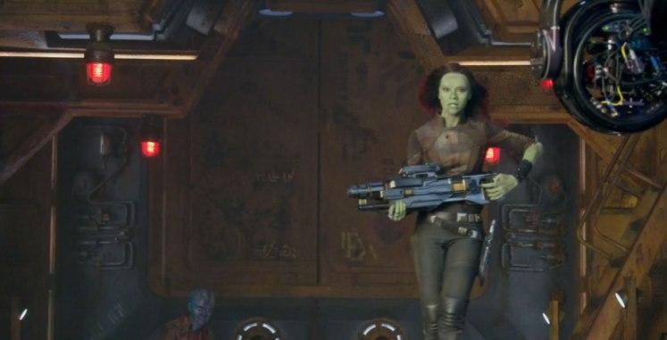 Divulgado novas imagens dos bastidores de Guardiões da Galáxia Vol. 2