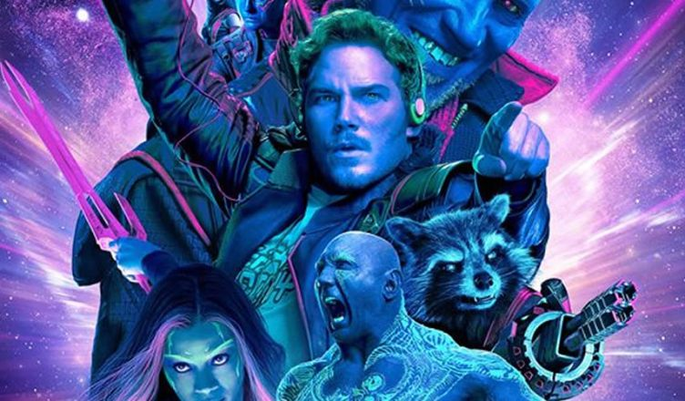 James Gunn divulga o pôster em IMAX de Guardiões da Galáxia Vol. 2