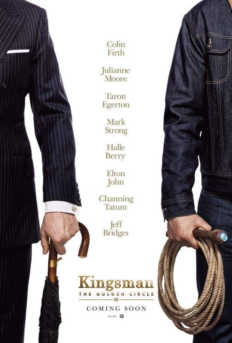 Divulgado o primeiro pôster e a sinopse de Kingsman: O Círculo Dourado!