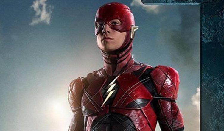 Divulgado um novo pôster do Flash em Liga da Justiça!