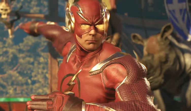 Flash é destaque em novo trailer de Injustice 2!