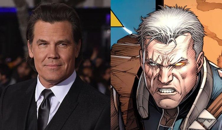 """Josh Brolin, o Thanos dos """"Vingadores"""", será Cable em Deadpool 2!"""