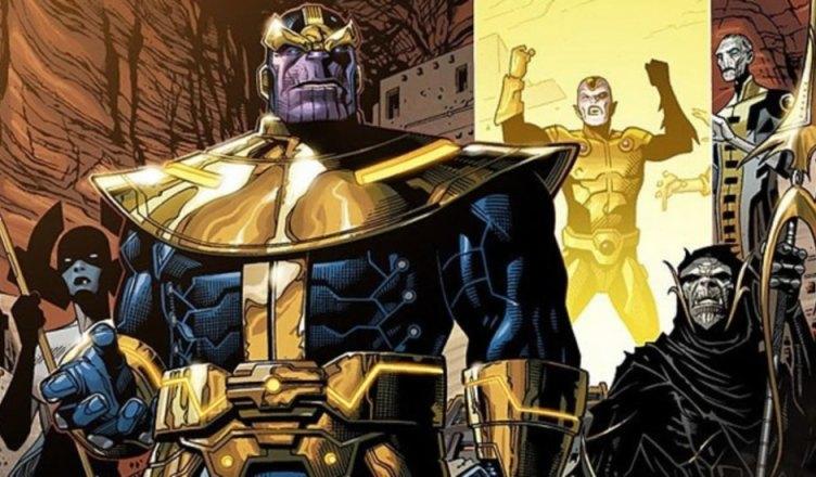 Revelado o visual da Manopla do Infinito e da Ordem Negra em Vingadores: Guerra Infinita!