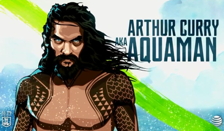 Liga da Justiça ganha um novo featurette focado no Aquaman!