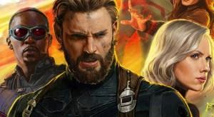 Capitão América, Falcão e Viúva Negra aparecem em uma nova arte promocional de Vingadores: Guerra Infinita!