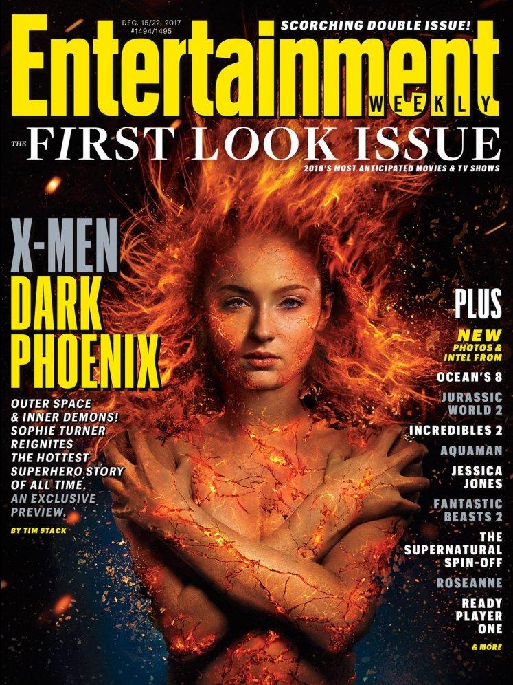 Divulgado a primeira imagem oficial da Jean Grey em X-Men: Fênix Negra!