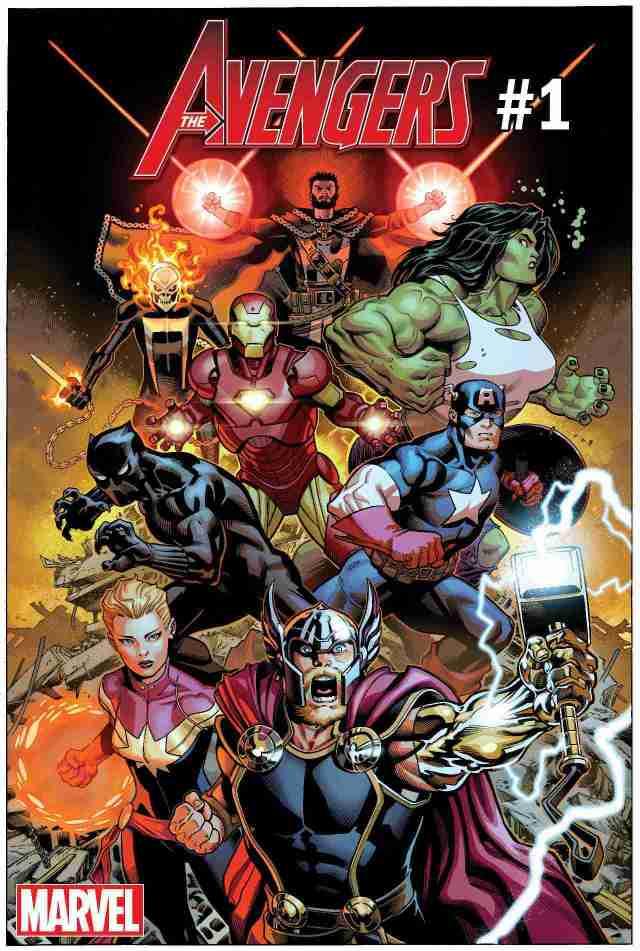 Marvel revela a nova formação da equipe dos Vingadores nos quadrinhos!