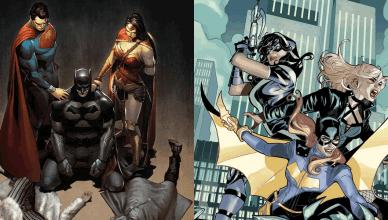 DC Comics anuncia a finalização das HQs da Trindade e Batgirl e as Aves de Rapina!