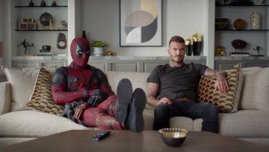 Mercenário Tagarela se desculpa com o David Beckham em novo vídeo de Deadpool 2!