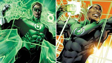 Hal Jordan e John Stewart são oficializados como os protagonistas do filme da Tropa dos Lanternas Verdes!