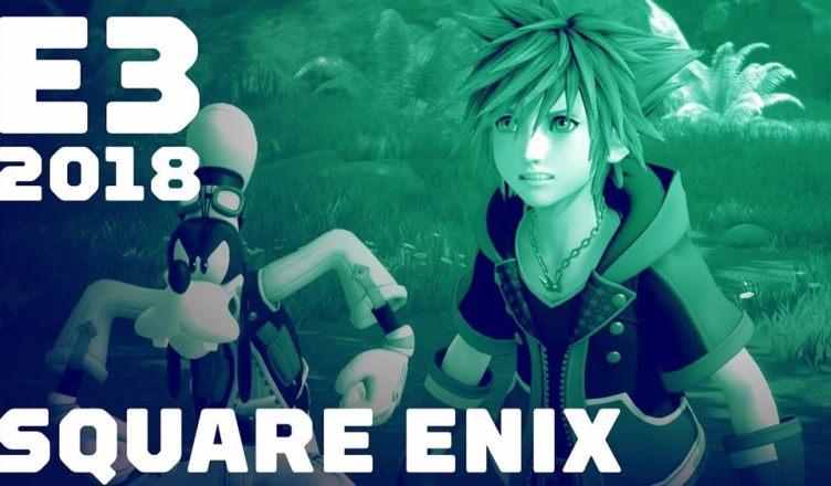 Confira o resumo da conferência da Square Enix na E3 2018!