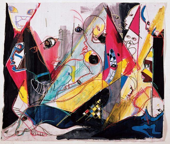 Las pinturas de Miles Davis: el arte visual inspirado por Kandinsky, Basquiat, Picasso y Joni Mitchell